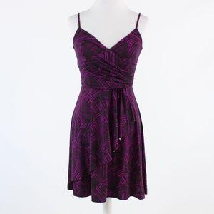Purple BANANA REPUBLIC sheath dress 0